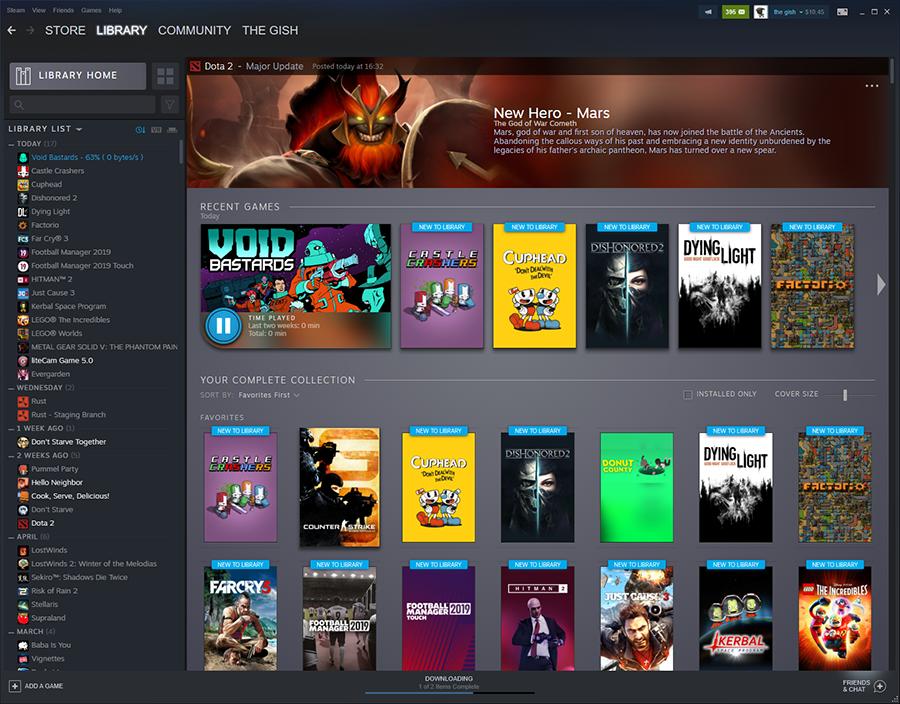 Steam atualiza biblioteca de jogos – Mundo Smart - mundosmart