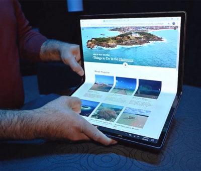 Intel também tem protótipo de notebook dobrável – Mundo Smart - mundosmart