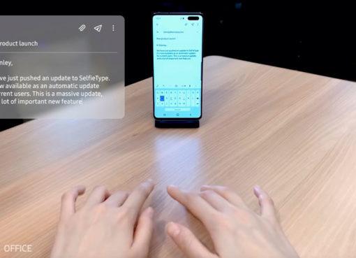 Samsung SelfieType, o futuro do teclado virtual – Mundo Smart - mundosmart