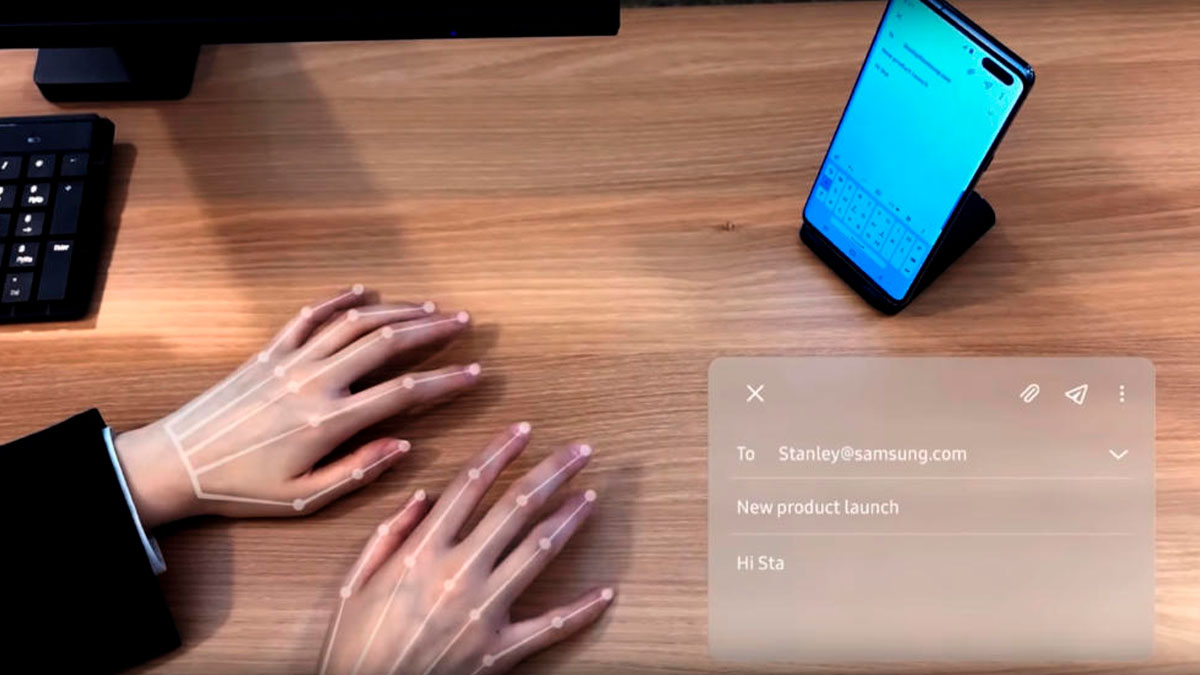 Samsung SelfieType, o futuro do teclado virtual – Mundo Smart - mundosmart