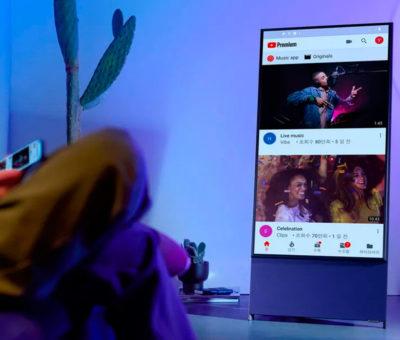 Samsung Sero, a nova Smart TV rotativa – Mundo Smart - mundosmart