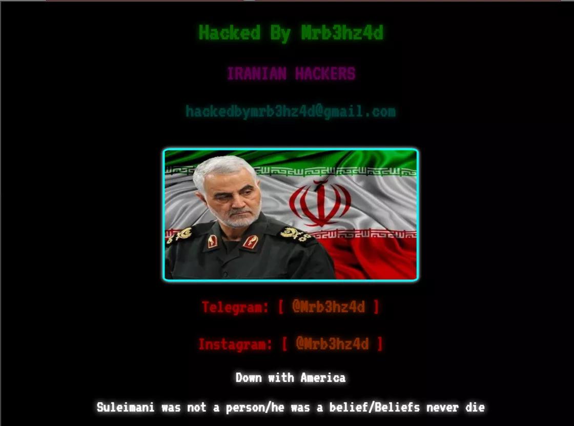 Hackers adolescentes do Irão estão a atacar sites dos EUA – mundo Smart - mundosmart