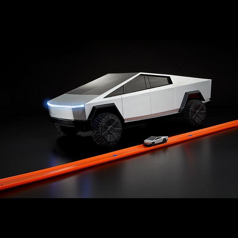 Hot Wheels lança versão realista do Cybertruck da Tesla – Mundo Smart - mundosmart