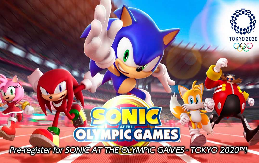 Sonic at the Tokyo Olympics in game for Android and iOS