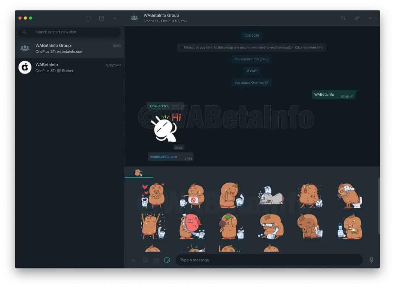 WhatsApp para desktop também vai receber modo escuro – Mundo Smart - mundosmart