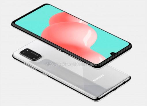Samsung Galaxy A41 com design revelado – Mundo Smart - mundosmart