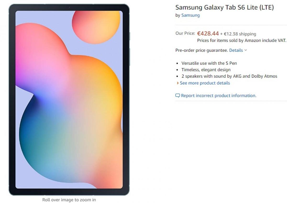 Amazon publica por engano o novo Samsung Galaxy Tab S6 Lite – Mundo Smart - mundosmart