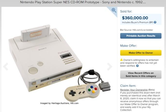 Mítica Nintendo Playstation vendida em leilão por 360 mil dólares – Mundo Smart - mundosmart