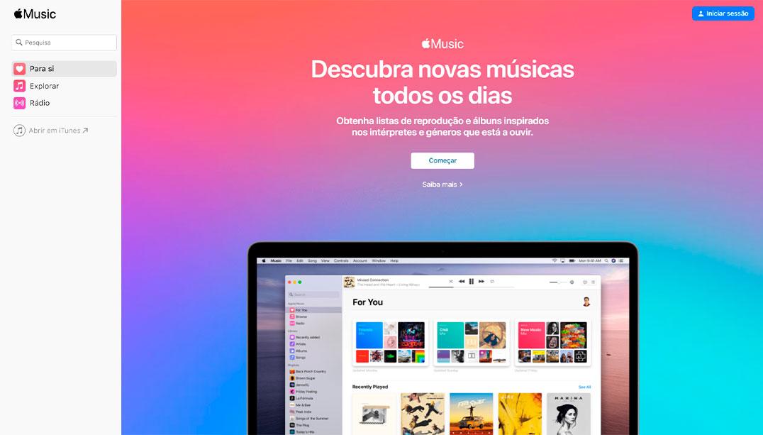 Apple Music chega a todas as plataformas com nova versão para web – Mundo Smart - mundosmart