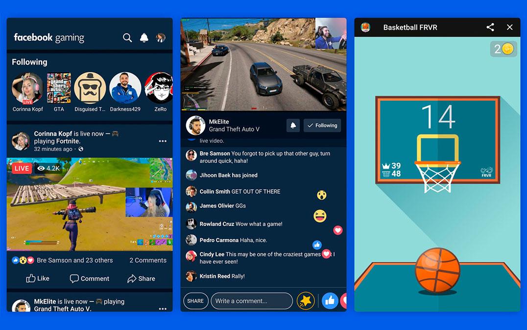 Facebook Gaming chega oficialmente como aplicação para a ...