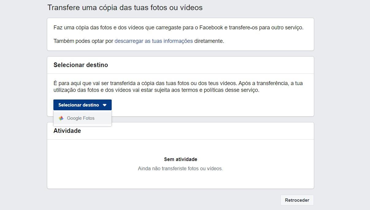 Como transferir as minhas fotos e vídeos do Facebook para o Google Fotos? – Mundo Smart - mundosmart
