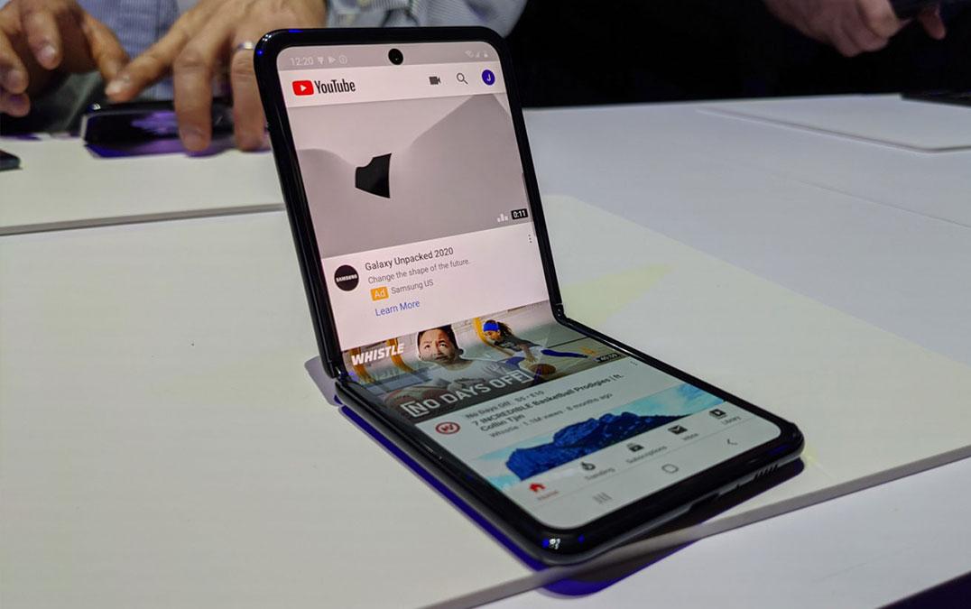 Youtube ganha nova otimização para o Samsung Galaxy Z Flip – Mundo Smart - mundosmart