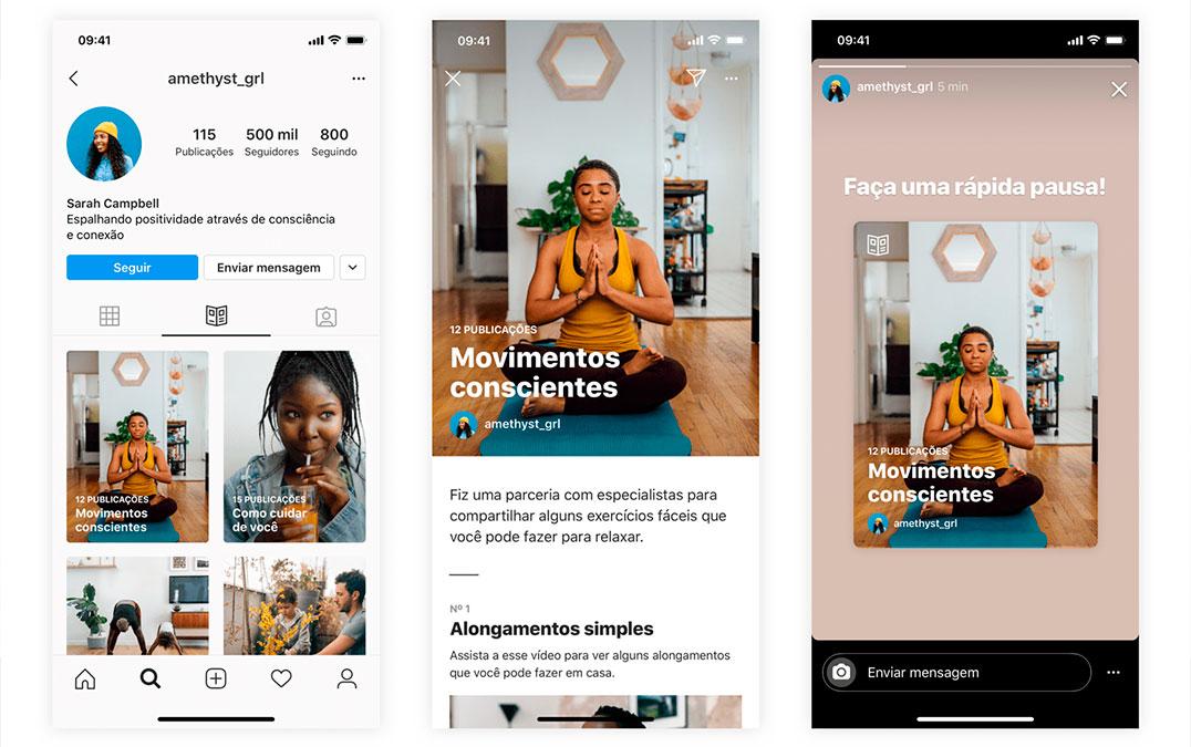Guias do Instagram são a nova forma de publicar conteúdo de texto – Mundo Smart - mundosmart