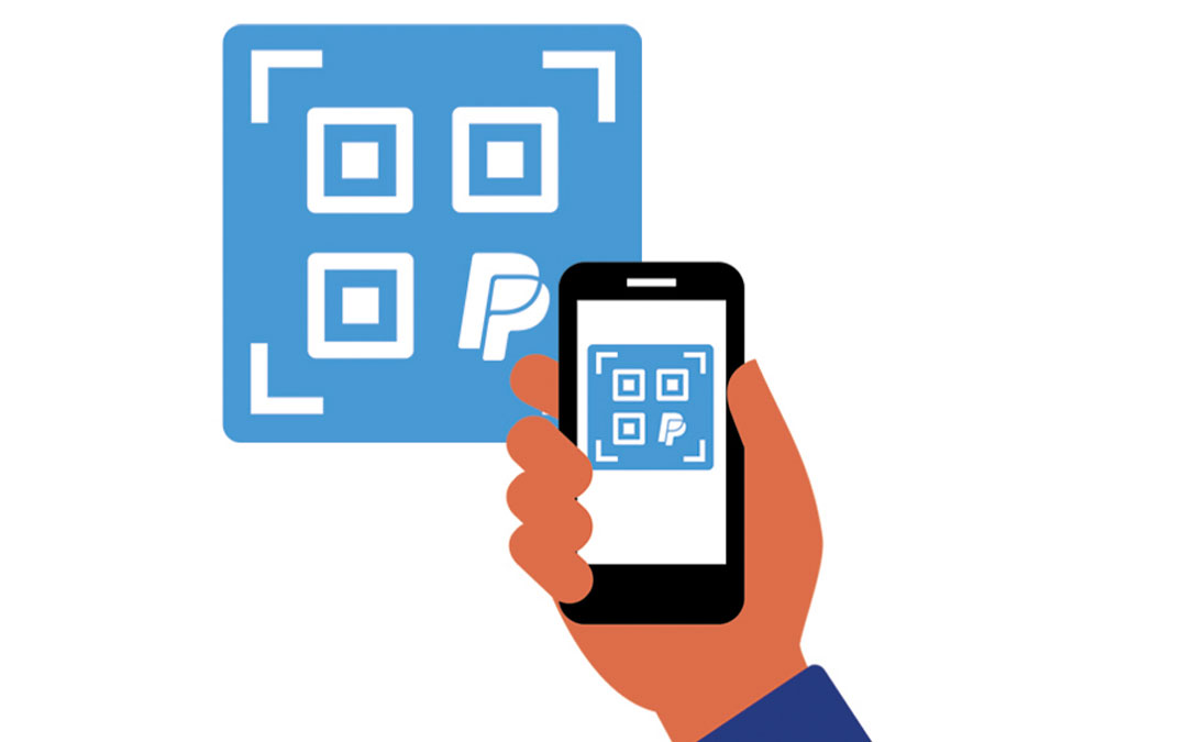 PayPal will have payment option via QR code. How to use?