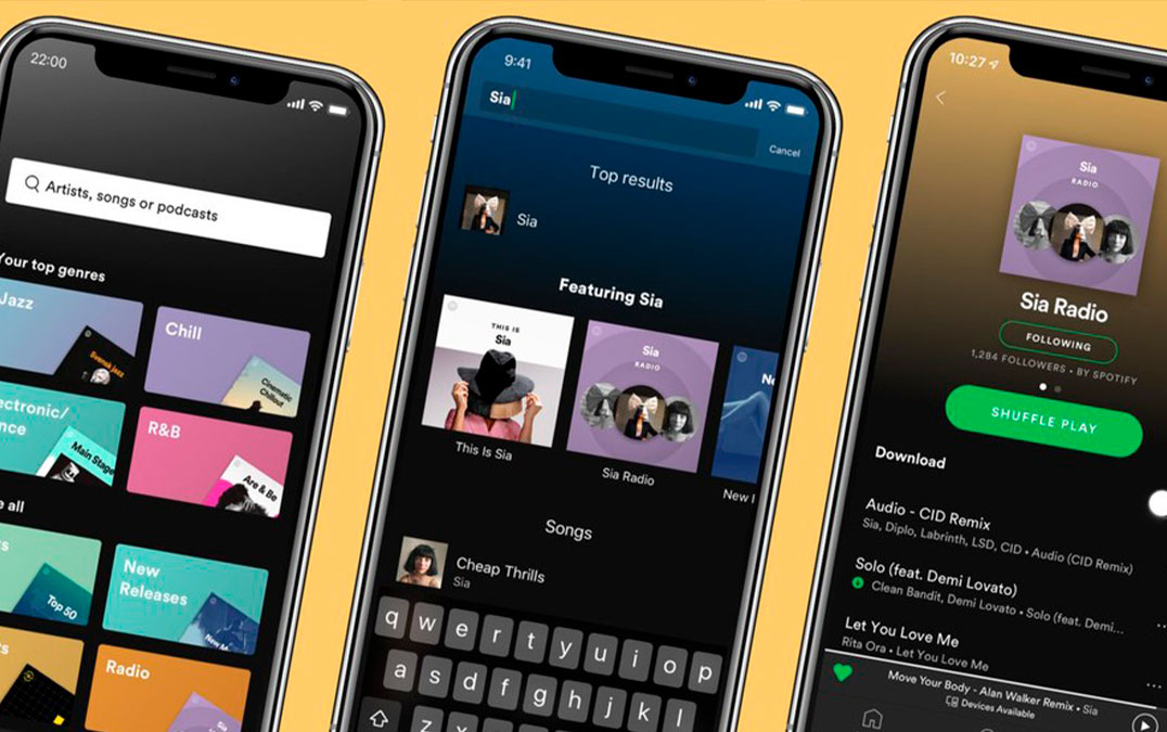 Spotify: How to listen to music with friends even far away
