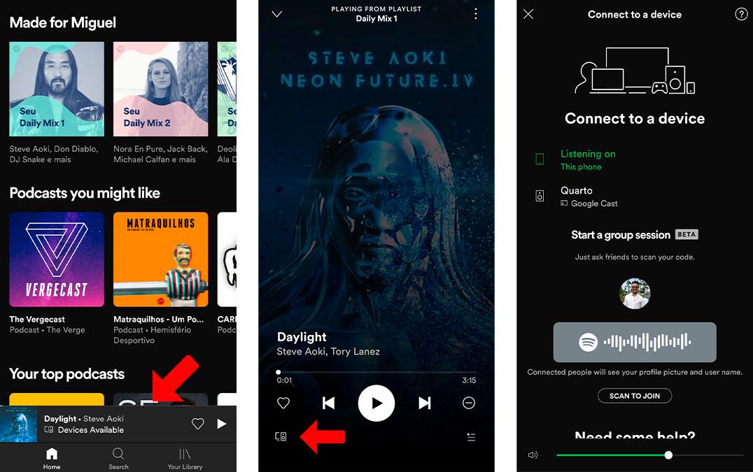 Spotify: Como ouvir músicas com amigos mesmo longe – Mundo Smart - mundosmart