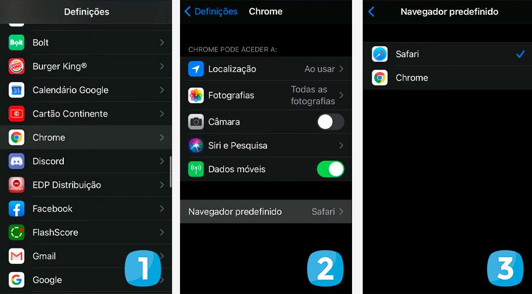 iOS 14: Como alterar o navegador web do iPhone – Mundo Smart - mundosmart