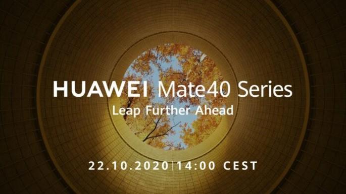 Huawei Mate40 Series com data de apresentação a 22 de outubro – Mundo Smart - mundosmart