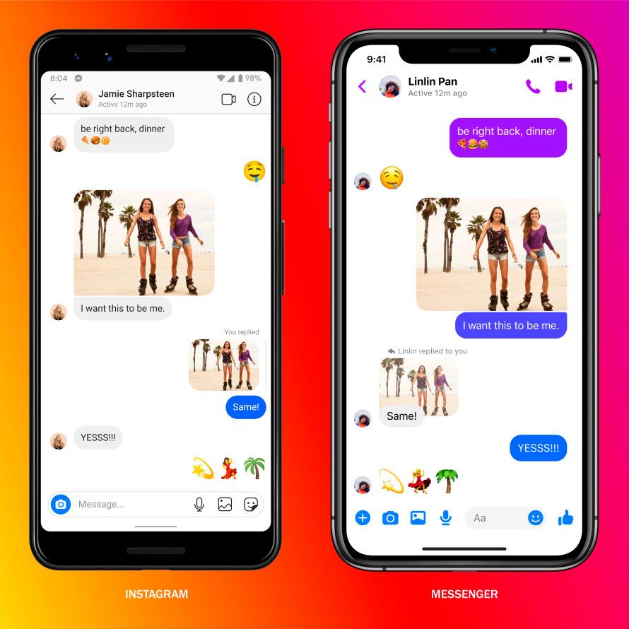 Facebook lança plataforma de mensagens entre o Instagram e o Messenger – Mundo Smart - mundosmart
